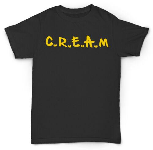 WU TANG CLAN CREAM CASH RULES T SHIRT METHOD MAN RZA