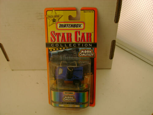 MATCHBOX SUPERFAST STAR CAR COLLECTION MORK /& MINDY JEEP WRANGLER NEW ON CARD