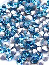 Swarovski 1028 Indicolite  29ss Crystal Chatons Foiled - 6 Pieces