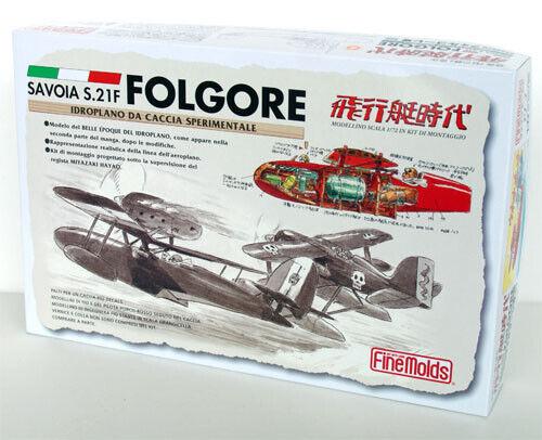 Fine Molds FJ4 SAVOIA S.21F FOLGORE PORCO ROSSO 1:72 scale kit