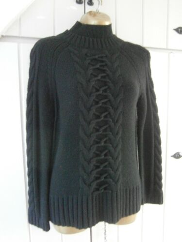 2 Jumper Black Neck Millen Cable Turtle Maglione Size Medium Maglione 12 Karen wf0xpOOv
