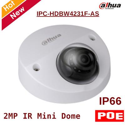 Dahua H.265 IPC-HDBW4231F-AS 2MP PoE IP67 IR20m IK10 Dome Network camera 2.8mm