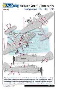 Beaufighter-Airframe-Stencil-Data-Markings-1-72-scale-Aviaeology-Decals