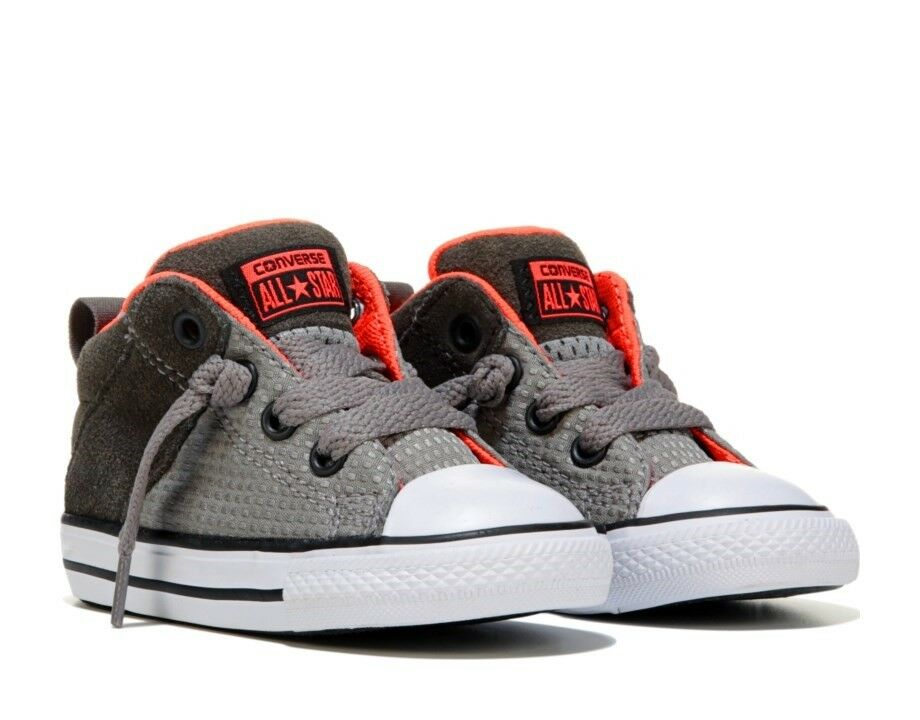 Converse All Star Axel Mid Cadet Grey Kids Sneakers