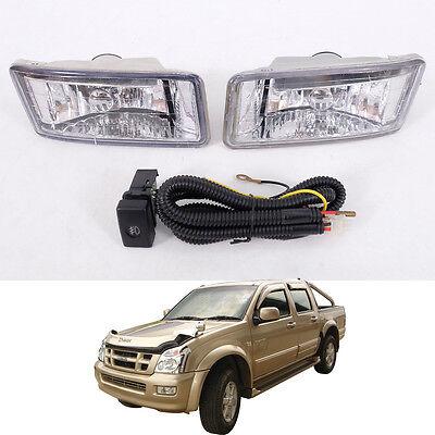 Set Lh+Rh Genuine Fog Lamp Spot Light Fit Isuzu Holden Rodeo D-Max 2006-2015