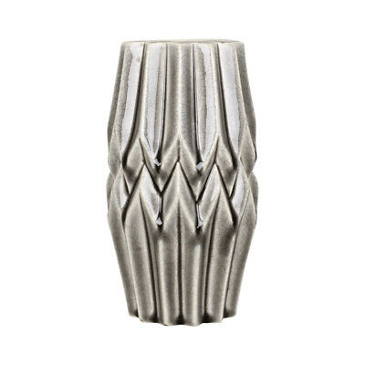 Dekovase Vase 49 cm Blumenvase Blumen LN39-4 Deko Modern Design Keramik grau XXL