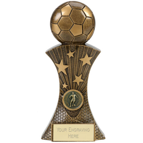 Football Soccer Trophy Free ENGRAVING Personalised Engraved Award 5 sizes New