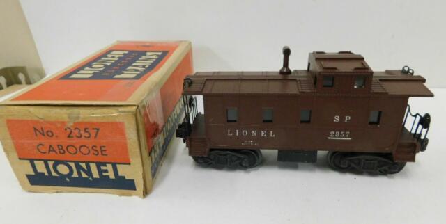 LIONEL 2357 SP CABOOSE (TUSCAN)