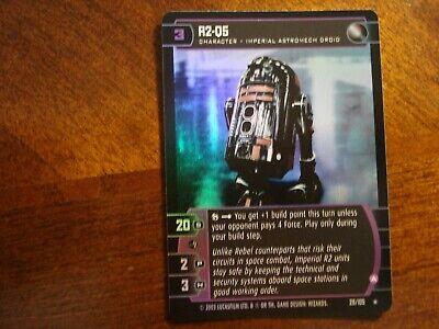 Star Wars TCG BOY Vader/'s Fury FOIL 33//105