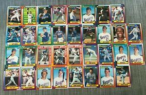 1990-TEXAS-RANGERS-Topps-COMPLETE-Baseball-Card-Team-Set-34-Cards-RYAN-GONZALEZ