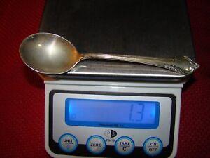 Sterling Silver Flatware International Continental Cream Soup Spoon