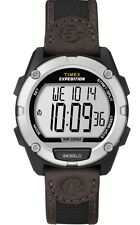 Timex Expedition Alarm Chronograph Leather Mens Watch T49948