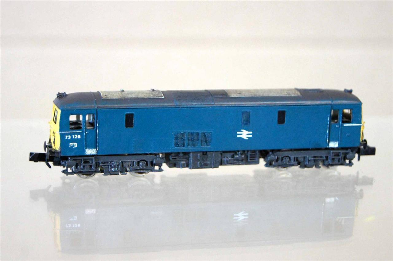 GRAHAM FARISH LIMA CJM KIT BUILT BR CLASS 73 LOCO 73126 WEATHErosso BOXED mz