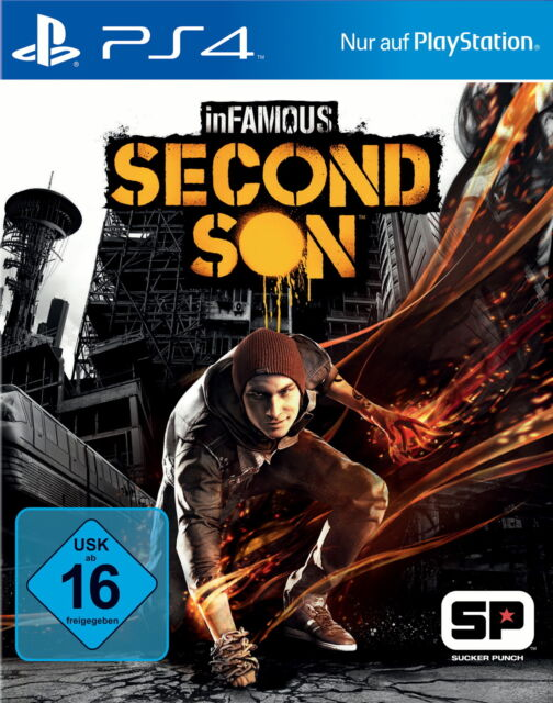 inFamous: Second Son (Sony PlayStation 4, 2014, DVD-Box) PS4