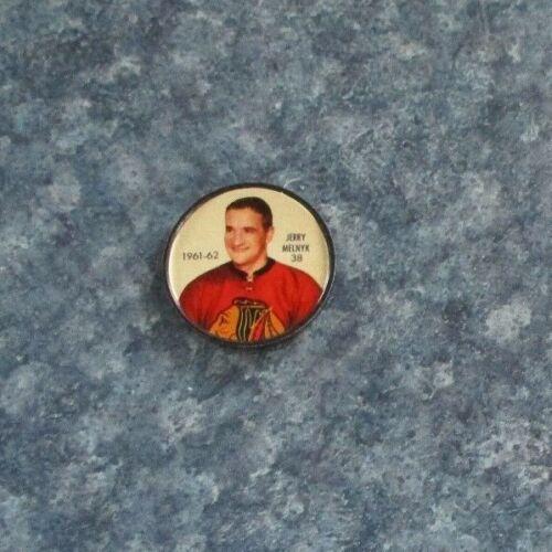 Shirriff //Salada coins Hockey1961-62 # 38 Jerry Melnyk Chicago Blackhawks lotT