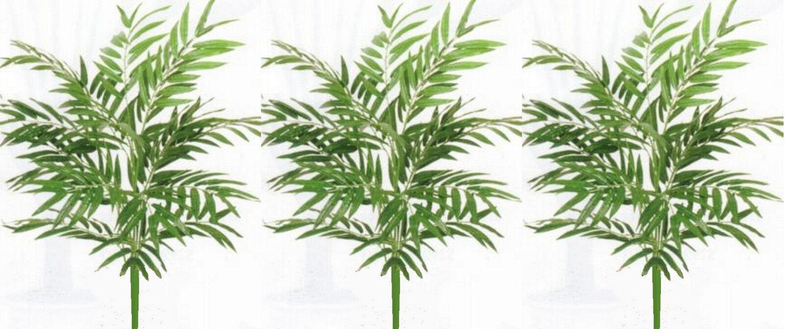 3 Phoenix 36  Palm Plant Soie Artificielle Arbre Bush arrangeHommest Artificiel Floral