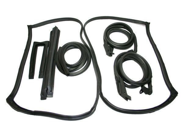 1978-82 Corvette C3 9 PIECE Weatherstripping kit THE BEST IN THE MARKET