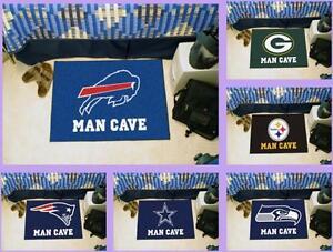 NFL-Licensed-Man-Cave-Starter-Area-Rug-Floor-Mat-Carpet-Choose-Your-Team