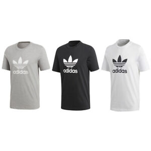 Détails sur Adidas 'ORIGINALS' Trefoil T Shirt CY4574 Gris S XXL afficher le titre d'origine