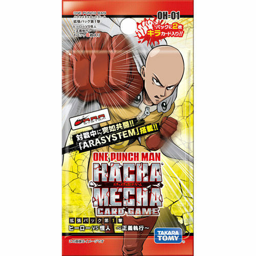 ONE PUNCH MAN OH-01 CARD GAME EXPANSION PACK FIRST ATTACK HERO VS PHAMTOM