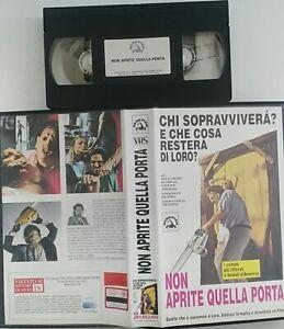 Non-Aprite-Quella-Porta-VHS-Skorpion-Usato