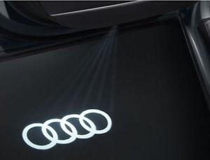 ORIGINAL-AUDI-Einstiegs-LED-Audi-Ringe-Tuer-Beleuchtung-A3-A4-A5-A6-R8-4G0052133G