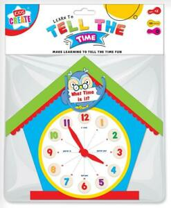 Children-039-s-Early-Learning-Tell-The-Time-Owl-Clock-Kids-Clock-Number-Counting