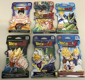 Lot de 5 boosters scellés Dragon Ball Série 2 Panini