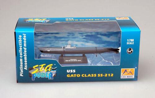 Easy Model U-Boat USS SS-212 Gato Class 1944 U-Boot Fertigmodell 1:700 Marine