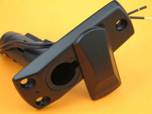 Attwood 911339-7 2-Pin Base 12 Degree Angled Stern Light Black Powder Cote 22931
