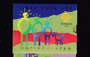 1994-UNC-Coin-SET-Australia-uncirculated-wide-date-50-cent-variety