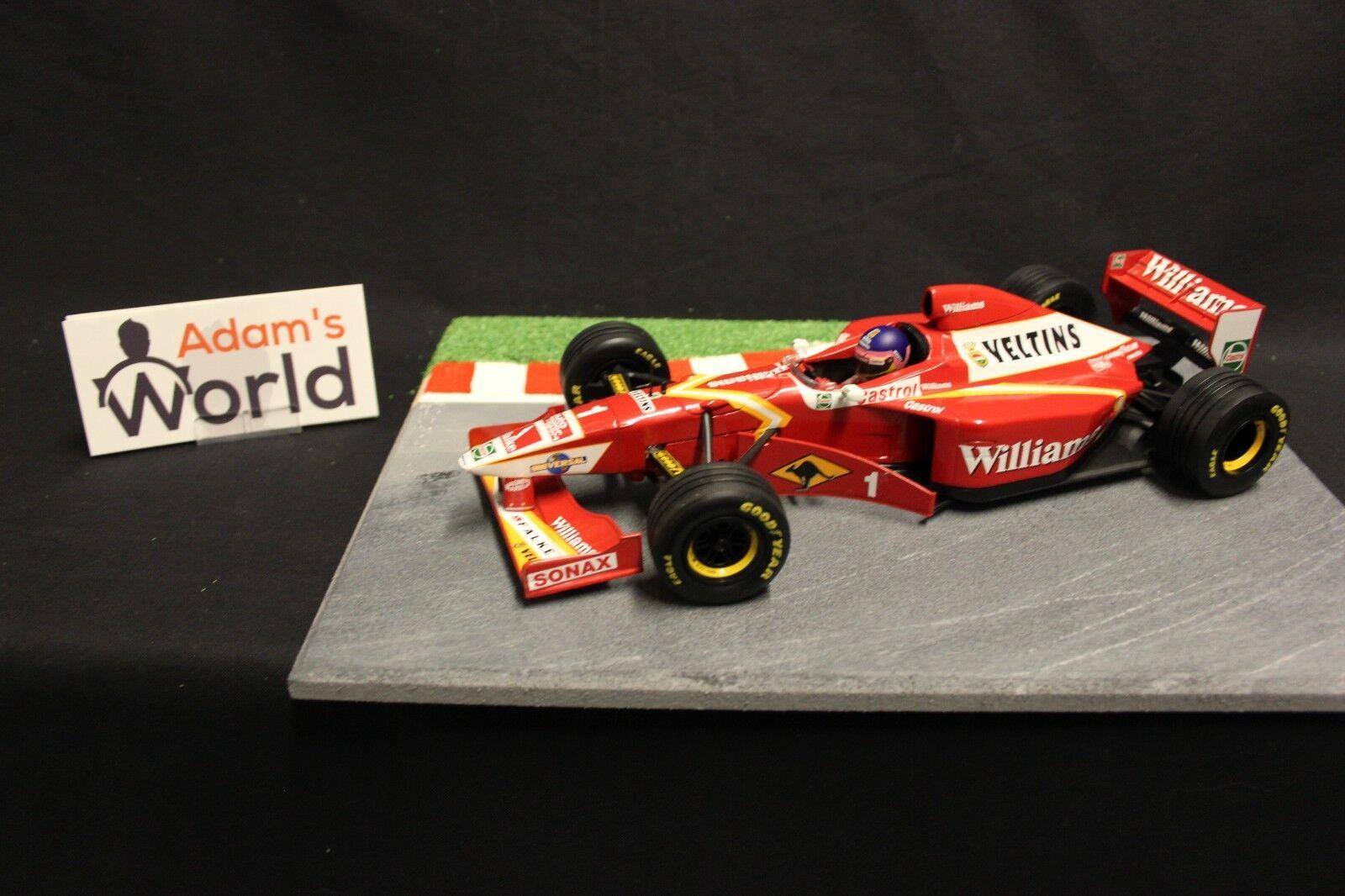Minichamps Williams Mecachrome show car 1998 1 1 1 18  1 Jacques Villeneuve (F1NB) 6db071
