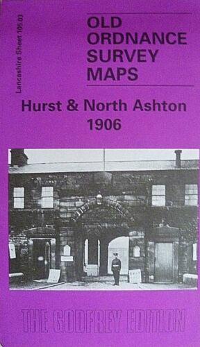 Old Ordnance Survey Maps Hurst /& North Ashton Lancs 1906 Sheet 105.03 New
