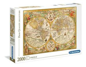 Clementoni Ancient Map High Quality Jigsaw Puzzle (2000 Pieces) - DAMAGED