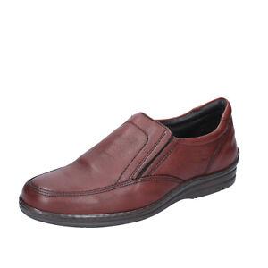 Chaussures Hommes FONTANA 46 Ue à Enfiler Brun Cuir BQ902-46
