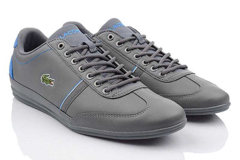 LACOSTE MISANO SPORT Herren Schuhe Sneaker Turnschuhe Leder 7-35cam00831z8 TOP