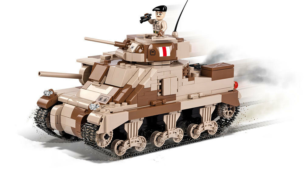 Construction Toy Small Army M3 Grant - American Middle Tank