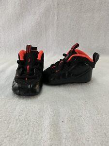 c0c931cd438c0f Nike Lil  Posite Pro Yeezy Infant Baby Boys Black crimson Crib Shoes ...