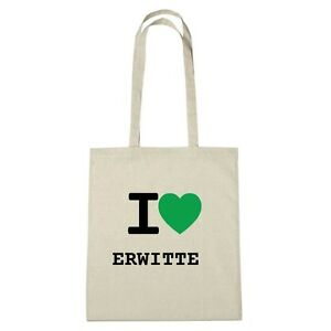 Erwitte natural De Medio Color Yute Bolsa Ambiente I Eco Love ZInqRH