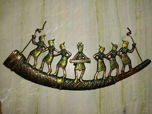 African-Ladies-Tribal-Women-Village-Girls-Brass-Tribe-Wall-Hanging-Decor-RD44