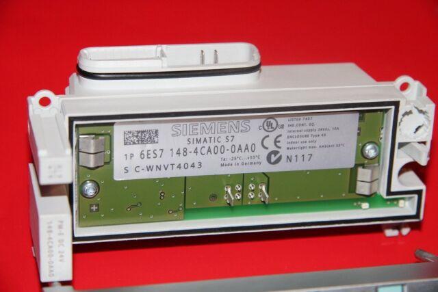 Siemens Simatic 6ES7 148-4CA00-0AA0 et 200S Module de Puissance
