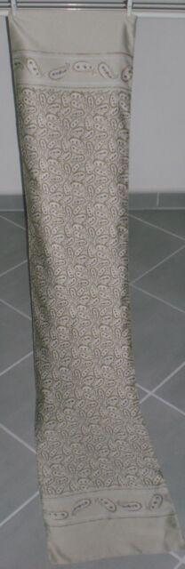 NEU!!! Dünner Damen-Schal ca. 130 x 27 cm, Beige/Braun NEU!!!