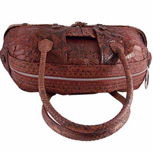 Handbag Real Le Gaultier Python Leather Python Paul Privé Jean w8aRqzR
