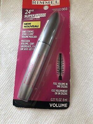 Rimmel London Volume Flash Super Speed Mascara 003 Extreme Black 27 Fl Oz 3614221220962 Ebay