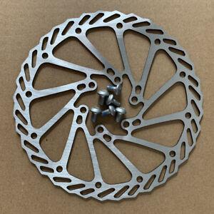 160mm-MTB-Mountain-Bike-Bicycle-Cycling-Mechanical-Disc-Brake-Rotors-6-Bolts-US