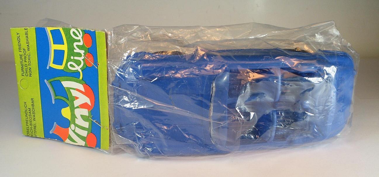 VINILE LINE ca 1/24 PORSCHE 356 CABRIO BLU GOMMA VINILE rubber nel sacchetto  624