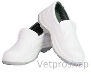 Chaussure De Securite Cuisine Mixte Blanche S2 Chaussure De