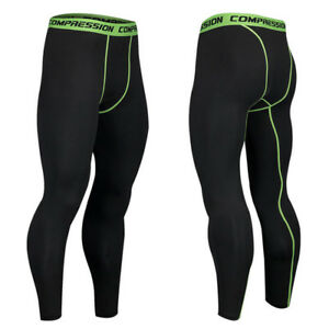 170c37b3b47f0 Image is loading Men-Gym-Sport-Thermal-Tight-Compression-Base-Layer-