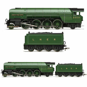 HORNBY-Loco-R3171-LNER-Cock-039-O-The-North-Class-P2-Railroad