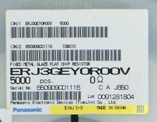 4 PANASONIC EXB-38VR000V RESISTOR NETWORK 0603 10000 pieces THICK FILM 0 OHM
